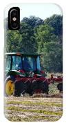 Raking The Hay IPhone Case