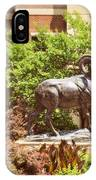 Ram Statue IPhone Case