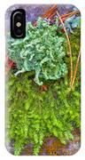 Rambouillet Forest Lichens IPhone Case