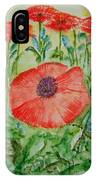 Ramonas Poppies IPhone Case