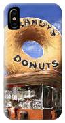 Randy's Donuts IPhone Case