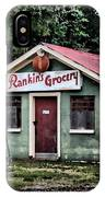 Rankins Grocery In Watercolor IPhone Case