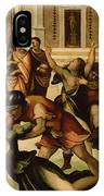 Rape Of The Sabines IPhone Case