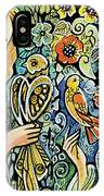 Raphael And Medieval Bird IPhone Case