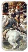 Raphael: Attilas Horsemen IPhone Case