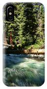 Rapids Near Maroon Bells IPhone Case