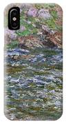Rapids On The Petite Creuse At Fresselines, 1889 IPhone Case
