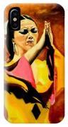 Raquel Heredia - Flamenco Dancer Sold IPhone Case