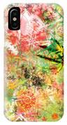 Rasta Flowers IPhone Case