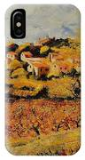 Rasteau Vaucluse  IPhone Case