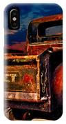 Rat Rod Chevy Truck IPhone Case