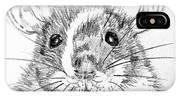 Rat Sketch IPhone Case