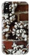 Raw Cotton IPhone Case