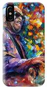 Ray Charles IPhone Case