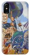 Ray Harryhausen Tribute The Mysterious Island IPhone Case