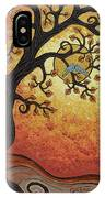 Reaching Across The Sky IPhone Case