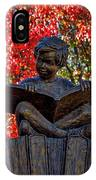 Reading Boy - Santa Fe IPhone Case