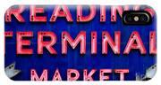 Reading Terminal Market IPhone Case
