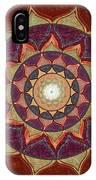 Realm Of The Desert Lotus Mandala IPhone Case