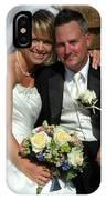 Rebecca And David IPhone Case