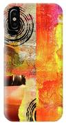 Reconstruction Abstract IPhone Case
