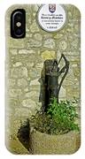Rectory Mansion And Hand Pump - Brading IPhone Case