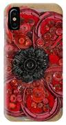 Recycled Poppy IPhone Case