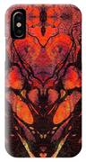 Red Abstract Art - Heart Matters - Sharon Cummings IPhone Case