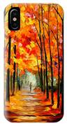 Red Alley IPhone Case
