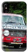 Red And Black Lancia Fulvia IPhone Case