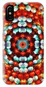 Red And Blue Stones IPhone Case