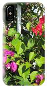 Red And Purple Flowers IPhone Case
