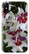 Red And Purple Orchids IPhone Case