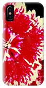 Red And White Mum IPhone Case