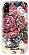 Red And White Roses II IPhone Case
