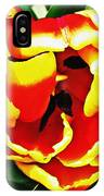 Red And Yellow Tulip IPhone Case