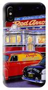 Red Arrow Diner IPhone Case