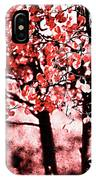 Red Aspen II IPhone Case