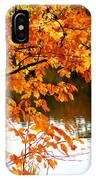 Red Autumn Leaves 2 IPhone Case