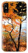 Red Autumn Leaves 5 IPhone Case