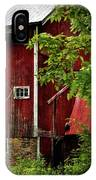 Red Barn 1 IPhone X Case