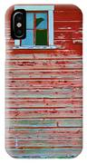 Red Barn Broken Window IPhone Case