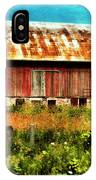 Red Barn No.1 IPhone Case
