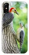 Red-bellied Woodpeckers IPhone Case