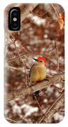 Red Belly IPhone Case