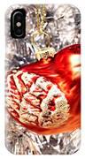 Red Bird White Tree IPhone Case