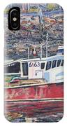 Red Boat Reflections IPhone Case