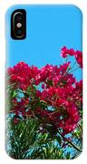 Red Bougainvillea Glabra Vine IPhone Case