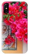 Red Bougainvilleas IPhone Case