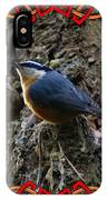 Red Breasted Nuthatch 2 IPhone Case